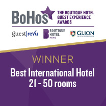 BoHos Best International Hotel Winner
