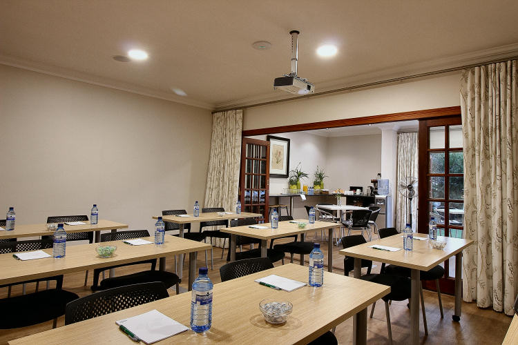 Conference Centre, fully equipped – seats 22 pax at Rivonia Bed & Breakfast