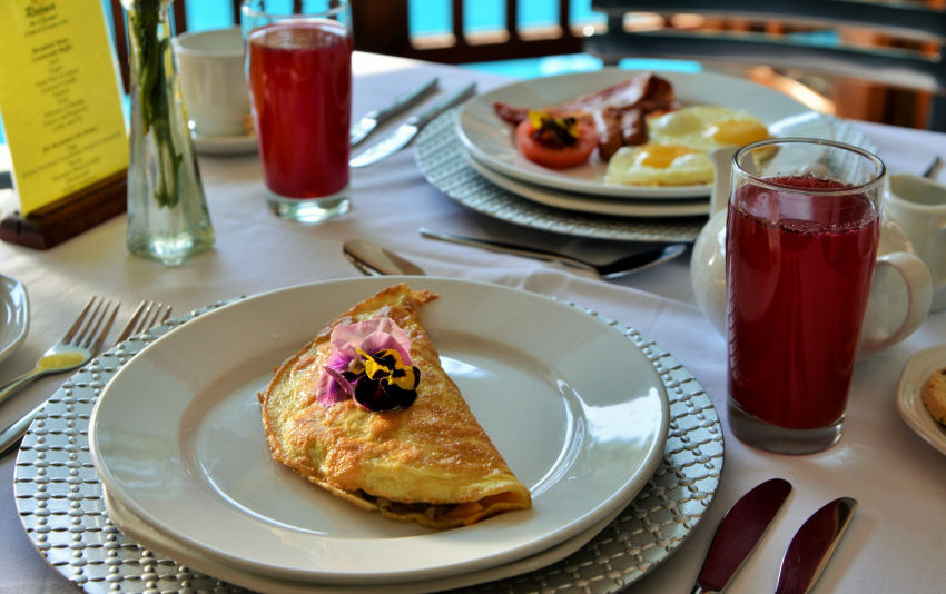 Breakfasts & Dinners at Rivonia Bed & Breakfast
