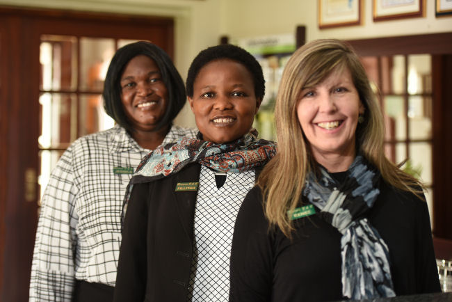 Rivonia Bed & Breakfast Staff